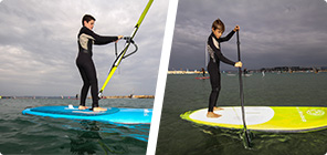 La pratique Aerial Windsup